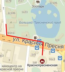 Дорога от метро